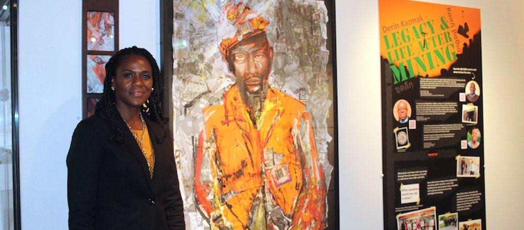 Digging Deep curator Norma Gregory