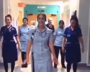 NHS Tik Tok video
